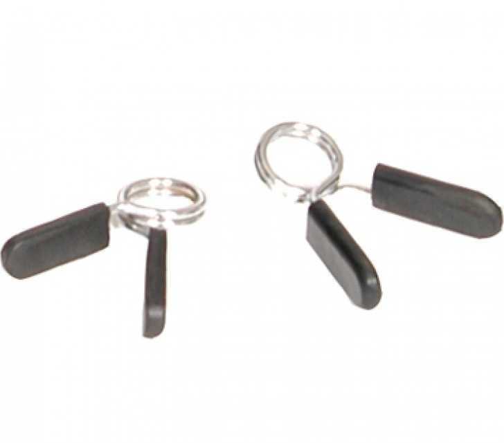 Picture of Olympic Chrome EZ-on Collars with Rubber Grips
