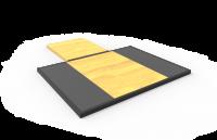 6' Rack Platform & Insert - Edge Attachment