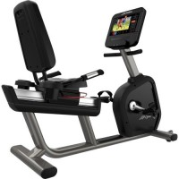 Integrity Series Lifecycle® Recumbent Exercise Bike - ST Console
