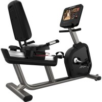 Integrity Series Lifecycle® Recumbent Exercise Bike - Discover SE3 HD Console