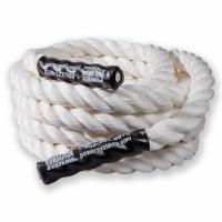 """Power Training Rope 1.5"""", White, 40'"""