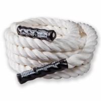 """Power Training Rope 1.5"""", White, 50'"""
