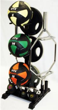 Vertical multiple storage rack