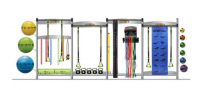 Smart Functional Training Center 4-Section Package Rack Only